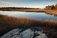 salt marsh, beach Rd., Cohasset, MA