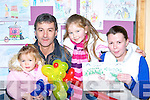 Keelin Bartlett, Eugene Bohan, Saoirse Regan and Debra Regan admire Saoirse's picture which was part of the Childrens Art exhibition in Killarney outlet centre on Friday   Copyright Kerry's Eye 2008