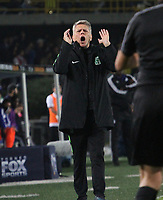 BOGOTÁ - COLOMBIA, 11-01-2019:Paulo Autuori de Mello director técnico del Atlético Nacional durante primer  partido contra Millonarios  del Torneo Fox Sport 2019 jugado en el estadio Nemesio Camacho El Campín de la ciudad de Bogotá. /Paulo Autuori de Mello coach of Atlerico Nacional    during the  first match agaisnt of Millonarios  of the Fox Sport 2019 Tournament played at the Nemesio Camacho El Campin Stadium in Bogota city. Photo: VizzorImage / Felipe Caicedo / Staff.