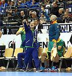 11.01.2019, Mercedes Benz Arena, Berlin, GER, BRA vs. FRA, im Bild <br /> Coach Washington Silva (BRA)<br /> <br />      <br /> Foto &copy; nordphoto / Engler