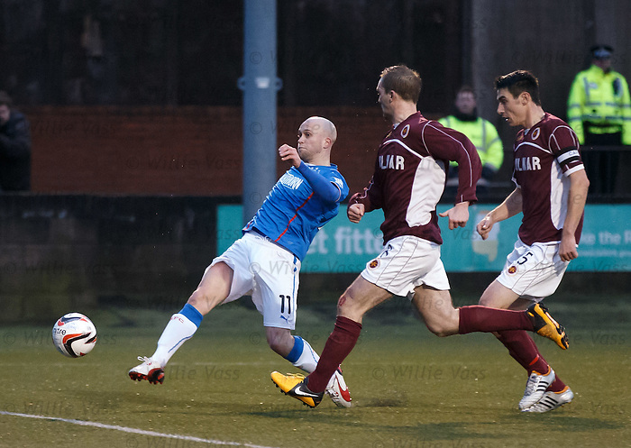 Nicky Law pounces to fine Rangers into the lead