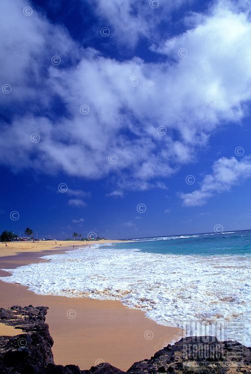 Beautiful Lanikai beach on Oahu