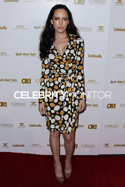 WEST HOLLYWOOD, CA, USA - FEBRUARY 27: Evis Xheneti at the OK! Magazine Pre-Oscar Party 2014 held at Greystone Manor Supperclub on February 27, 2014 in West Hollywood, California, United States. (Photo by Xavier Collin/Celebrity Monitor)