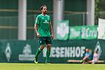07.07.2019, Parkstadion, Zell am Ziller, AUT, TL Werder Bremen Zell am Ziller / Zillertal Tag 03 - FSP Blitzturnier<br /> <br /> im Bild<br /> Martin Harnik (Werder Bremen #09) Kapitän / mit Kapitänsbinde,<br /> <br /> im dritten Spiel des Blitzturniers SV Werder Bremen vs Karlsruher SC, <br /> <br /> Foto © nordphoto / Ewert