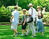 Dr. John Brown's family at Delaware Park on 7/11/15