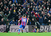 9th December 2017, Selhurst Park, London, England; EPL Premier League football, Crystal Palace versus Bournemouth; Wilfried Zaha of Crystal Palace is fouled in the Bournemouth area by Charlie Daniels of Bournemouth and is awarded a spot kick