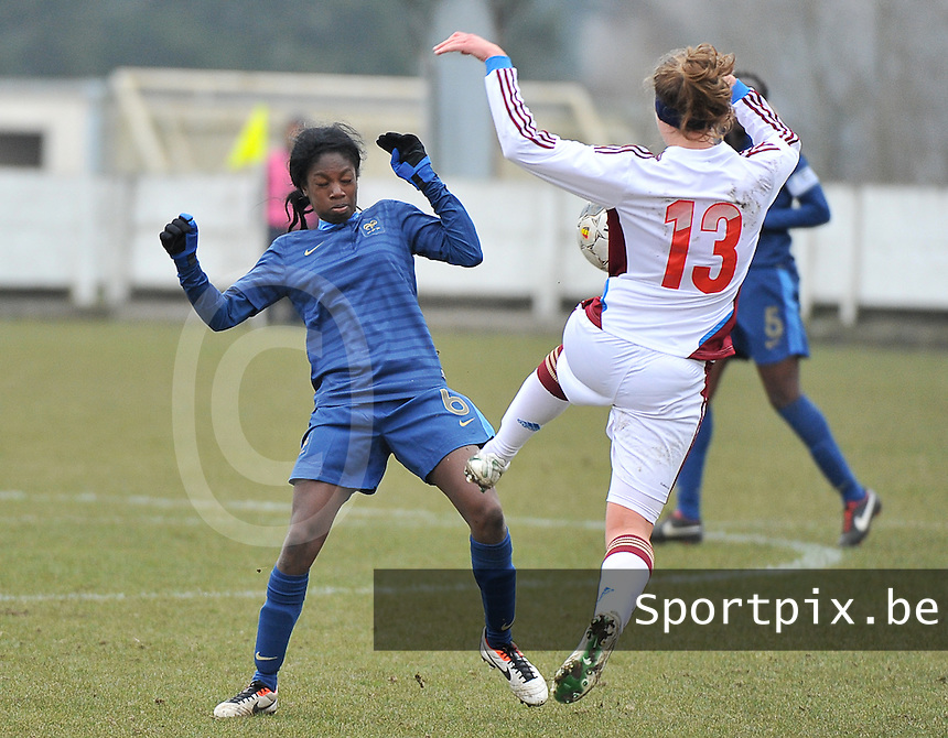 France U19 - Russia U19 : Aminata Diallo.foto DAVID CATRY / Nikonpro.be