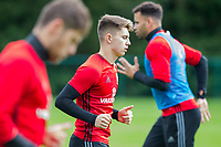 Ben Woodburn during Wales national team training at Vale Resort, Hensol, Wales on 4 September 2017, ahead of the side's World Cup Qualification match against Moldova. Photo by Mark  Hawkins.