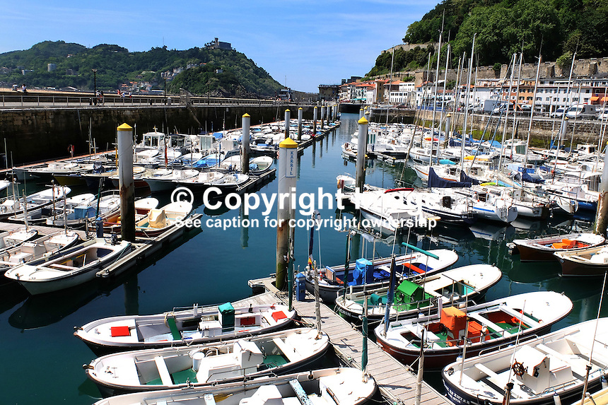 Harbour, San Sebastian, Donostia, Spain, May, 2015, 201505101036<br />