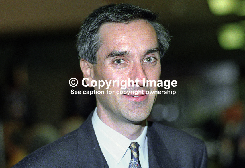 John Redwood, MP, Conservative Party, UK, taken annual conference October 1992. 19921057JR2.<br /> <br /> Copyright Image from Victor Patterson,<br /> 54 Dorchester Park, <br /> Belfast, UK, BT9 <br /> <br /> t1: +44 28 9066 1296 (from Rep of Ireland 048 90661296)<br /> t2: +44 28 9002 2446 (from Rep of Ireland 048 9002 2446)<br /> <br /> m: +44 7802 353836<br /> <br /> e: victorpatterson@me.com<br /> www.victorpatterson.com<br /> <br /> Please see my Terms and Conditions of Use at www.victorpatterson.com. It is IMPORTANT that you familiarise yourself with them.<br /> <br /> Images used on the Internet must be visibly watermarked i.e. &copy; Victor Patterson<br /> within the body of the image and copyright metadata must not be deleted. Images <br /> used on the Internet have a size restriction of 4kbs and will be chargeable at current<br />  NUJ rates unless agreed otherwise.<br /> <br /> This image is only available for the use of the download recipient i.e. television station, newspaper, magazine, book publisher, etc, and must not be passed on to any third <br /> party. It is also downloaded on condition that each and every usage is notified within 7 days to victorpatterson@me.com<br /> <br /> The right of Victor Patterson to be identified as the author is asserted in accordance with The Copyright Designs And Patents Act (1988). All moral rights are asserted.
