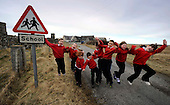Stoneybridge Primary School, South Uist, which opened its doors as an Evening School in 1879, shut yesterday (fri) with the eight remaining pupils moving to Iochdar School, approx 7 miles away. The last pupils, from Locheynort, Ormiclate and Stoneybridge districts, are Aislinn Beaton (6), Donald Andrew MacCormack (7), Maria MacGoldrick (7), Calum Beaton (7), Laura Beaton (8), Mary Rose MacIntyre (8), Patrick MacInnes (9), Christian MacInnes (11). Comhairle nan Eilean Siar (Western Isles Council) is in consultation with parent and community groups throughout the region and seeks to close up to 18 schools in the next 2 to 3 years (further info from Nigel Scott, CnES PR on 01851 709389 and www.w-isles.gov.uk/press/100317a.asp) - Picture by Donald MacLeod 26.03.10