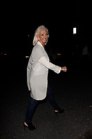 LONDON, ENGLAND - MAY 31 :  Debbie McGee leaves the Britain's Got Talent tv show at The Hammersmith Apollo on May 31, 2018 in London, England.<br /> CAP/AH<br /> &copy;Adam Houghton/Capital Pictures
