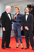 David Stratton, Jasmine Trinca and Edgar Wright arrive at the Award Ceremony of the 74th Venice Film Festival at Sala Grande on September 9, 2017 in Venice, Italy. <br /> CAP/GOL<br /> &copy;GOL/Capital Pictures