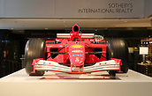 2017 Michael Schumacher Ferarri for sale at Sotherbys Nov 3rd