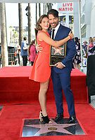 LOS ANGELES, CA. October 24, 2019: Sarah Kate Connick & Harry Connick Jr. at the Hollywood Walk of Fame Star Ceremony honoring Harry Connick Jr.<br /> Pictures: Paul Smith/Featureflash