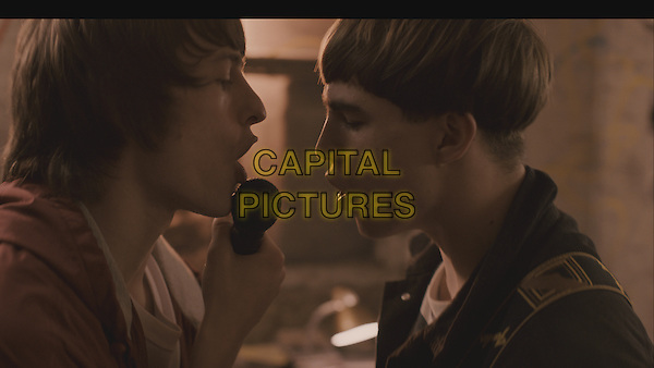 Elliott Tittensor, Nico Mirallegro<br /> in Spike Island (2012) <br /> *Filmstill - Editorial Use Only*<br /> CAP/NFS<br /> Supplied by Capital Pictures