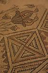 Israel, Shephelah, Byzantine Mosaic in Emmaus Nicopolis