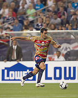 Monarcas Morelia forward Luis Gabriel Rey (18). Monarcas Morelia defeated the New England Revolution, 2-1, in the SuperLiga 2010 Final at Gillette Stadium on September 1, 2010.