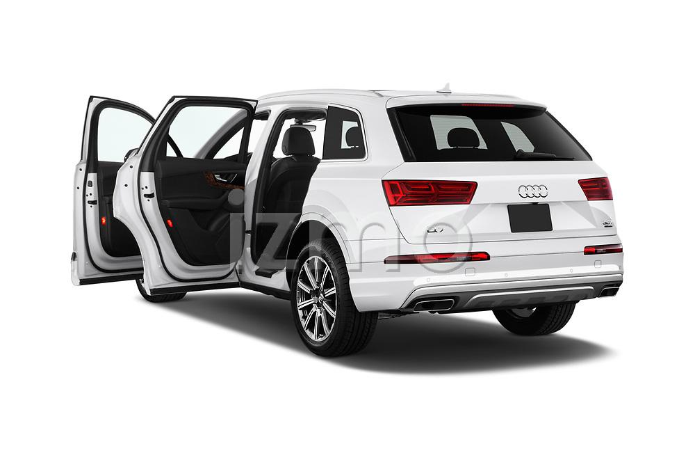 Car images close up view of 2017 Audi Q7 Premium  5 Door SUV doors