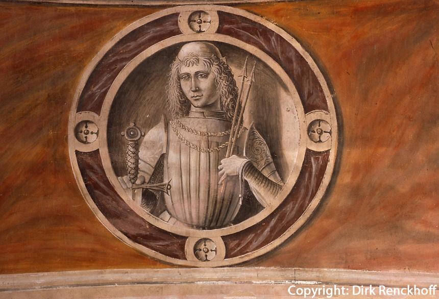 Italien, Lombardei, Klosterkirche im Kloster Certosa di Pavia