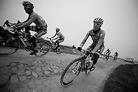 Paris-Roubaix 2012 recon..Team Saxobank