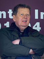 Bill Turnbull pre match during the Sky Bet League 1 match between Wycombe Wanderers and Portsmouth at Adams Park, High Wycombe, England on 6 April 2019. Photo by Andy Rowland / PRiME Media Images.