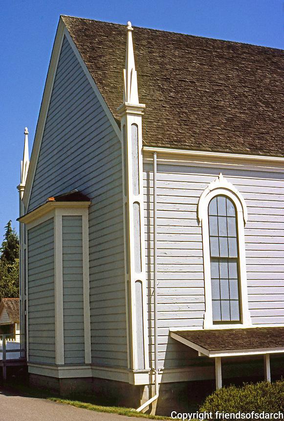 Port Gamble, WA.: St. Paul's Episcopal Church.