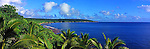 Niue Island Panorama - View along the coast of Niue<br />