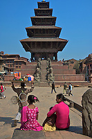 Bhaktapur Temples and Palace, Nepal,
