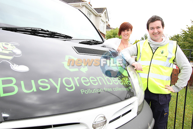 Barry Smith and Emma Harkin of Busygreenbee.ie..Photo NEWSFILE/Jenny Matthews.(Photo credit should read Jenny Matthews/NEWSFILE)....This Picture has been sent you under the condtions enclosed by:.Newsfile Ltd..The Studio,.Millmount Abbey,.Drogheda,.Co Meath..Ireland..Tel: +353(0)41-9871240.Fax: +353(0)41-9871260.GSM: +353(0)86-2500958.email: pictures@newsfile.ie.www.newsfile.ie.FTP: 193.120.102.198.