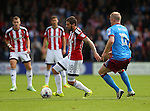 Kieron Freeman of Sheffield Utd during the English League One match at Glanford Park Stadium, Scunthorpe. Picture date: September 24th, 2016. Pic Simon Bellis/Sportimage