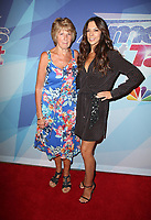 HOLLYWOOD, CA - SEPTEMBER 12: Margaret seymour, Terri Seymour, at NBC's 'America's Got Talent' Season 12 Live Show at The Dolby Theatre on September 12, 2017 in Los Angeles, California. <br /> CAP/MPI/FS<br /> &copy;FS/MPI/Capital Pictures