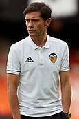 1st October 2017, Mestalla, Valencia, Spain; La Liga football, Valencia CF versus Athletic Bilbao; Marcelino Garcia Toral head coach of Valencia CF inspects the pitch prior to the game