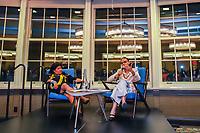 """NOVA YORK, EUA, 25.09.2019 - POLÍTICA-EUA - Marina Silva ambientalista e política brasileira acompanhada de líderes indonésios Sonia Guajajara debate """"Amazônia no Fogo, Das Cinzas à Ação"""" na Universidade de Columbia na cidade de Nova York nesta quarta-feira, 25. (Foto: Vanessa Carvalho / Brazil Photo Press)"""