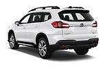 Car pictures of rear three quarter view of a 2019 Subaru Ascent Limited 5 Door SUV angular rear