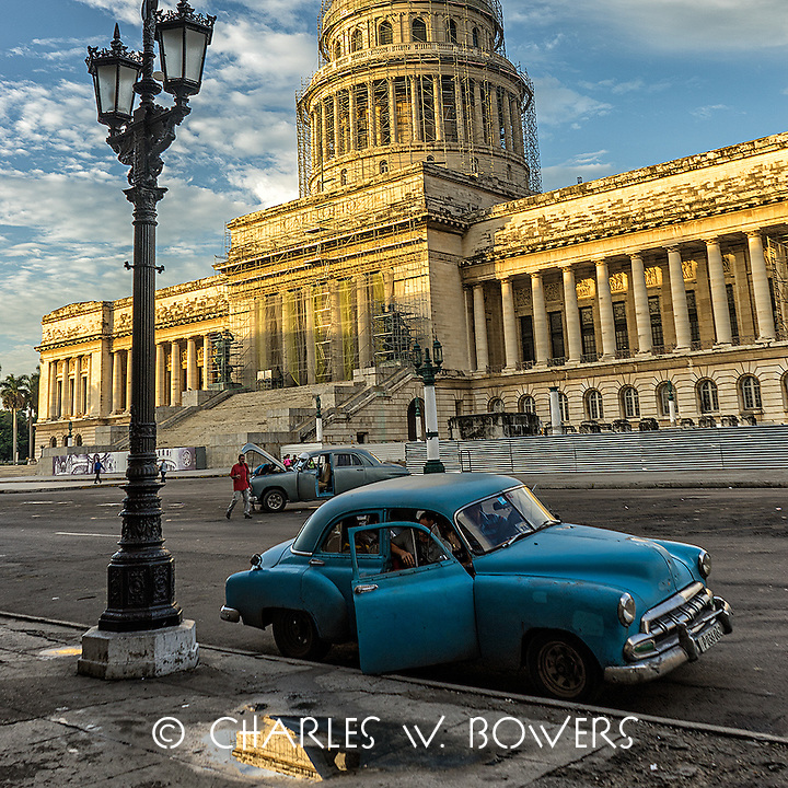 Faces Of Cuba - Havana Capitol building in the early morning.<br />