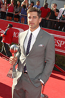 Aaron Rodgers at the 2012 ESPY Awards at Nokia Theatre L.A. Live on July 11, 2012 in Los Angeles, California. &copy;&nbsp;mpi20/MediaPunch Inc. *NORTEPHOTO*<br />