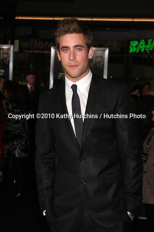"LOS ANGELES - NOV 22:  OLIVER JACKSON-COHEN arrives at the ""Faster"" LA Premiere at Grauman's Chinese Theater on November 22, 2010 in Los Angeles, CA"