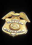 Philadelphia Police Detective Badge
