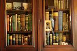 Billings Farmhouse. Bookcase cabinet.