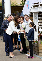 16 June 2017 - Catherine, Duchess of Cambridge during her visit to the 1851 Trust roadshow at the Docklands Sailing and Watersports Centre in London, England. Photo Credit: Nieboer/PPE/face to face/AdMedia