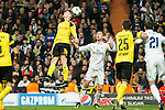 Borussia Dortmund GLucasz Piszczek, Real Madrid's Cristiano Ronaldo  during Champions League match between Real Madrid and Borussia Dortmund  at Santiago Bernabeu Stadium in Madrid , Spain. December 07, 2016. (ALTERPHOTOS/Rodrigo Jimenez)