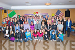 Mark Moriarty Muckross, Killarney seated centre celebrated his 21st birthday in Darby O'Gills Killarney on Saturday night