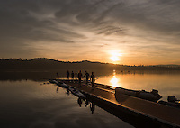 Varese. Lombardia. ITALY. General View. Varese Rowing Club. [Canottieri Varese] Province of Varese.  Sunset <br /> <br /> Monday  02/01/2017<br /> <br /> [Mandatory Credit; Peter Spurrier/Intersport-images]<br /> <br /> <br /> LEICA CAMERA AG - LEICA Q (Typ 116) - 1/2000 - f4