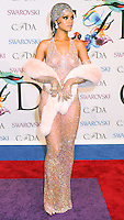 NEW YORK CITY, NY, USA - JUNE 02: Rihanna arrives at the 2014 CFDA Fashion Awards held at Alice Tully Hall, Lincoln Center on June 2, 2014 in New York City, New York, United States. (Photo by Celebrity Monitor)