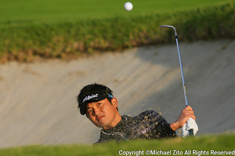 02/04/10 Los Angeles,CA: Ryuji Imada during the first round of the Northern Trust Open held at Riviera Country Club.