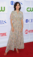 BEVERLY HILLS, CA - JULY 29: Carrie-Anne Moss arrives at the CBS, Showtime and The CW 2012 TCA summer tour party at 9900 Wilshire Blvd on July 29, 2012 in Beverly Hills, California. /NortePhoto.com<br />