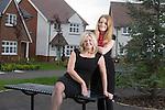 Redrow Homes<br /> Beverley &amp; Beth Wookey<br /> 02.05.14<br /> &copy;Steve Pope-FOTOWALES