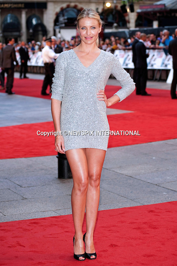 "CAMERON DIAZ.Attends the UK premiere of Knight and Day, London_England_22/07/2010..Mandatory Photo Credit: ©Dias/Newspix International..**ALL FEES PAYABLE TO: ""NEWSPIX INTERNATIONAL""**..PHOTO CREDIT MANDATORY!!: NEWSPIX INTERNATIONAL(Failure to credit will incur a surcharge of 100% of reproduction fees)..IMMEDIATE CONFIRMATION OF USAGE REQUIRED:.Newspix International, 31 Chinnery Hill, Bishop's Stortford, ENGLAND CM23 3PS.Tel:+441279 324672  ; Fax: +441279656877.Mobile:  0777568 1153.e-mail: info@newspixinternational.co.uk"
