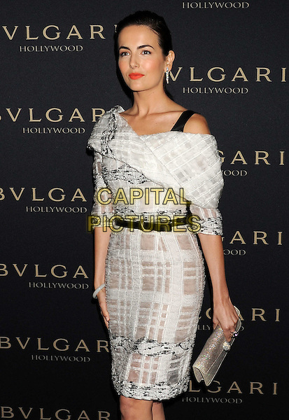 WEST HOLLYWOOD, CA- FEBRUARY 25: Actress Camilla Belle   arrives at the BVLGARI 'Decades Of Glamour' Oscar Party Hosted By Naomi Watts at Soho House on February 25, 2014 in West Hollywood, California.<br /> CAP/JOR<br /> &copy;Nils Jorgensen/Capital Pictures